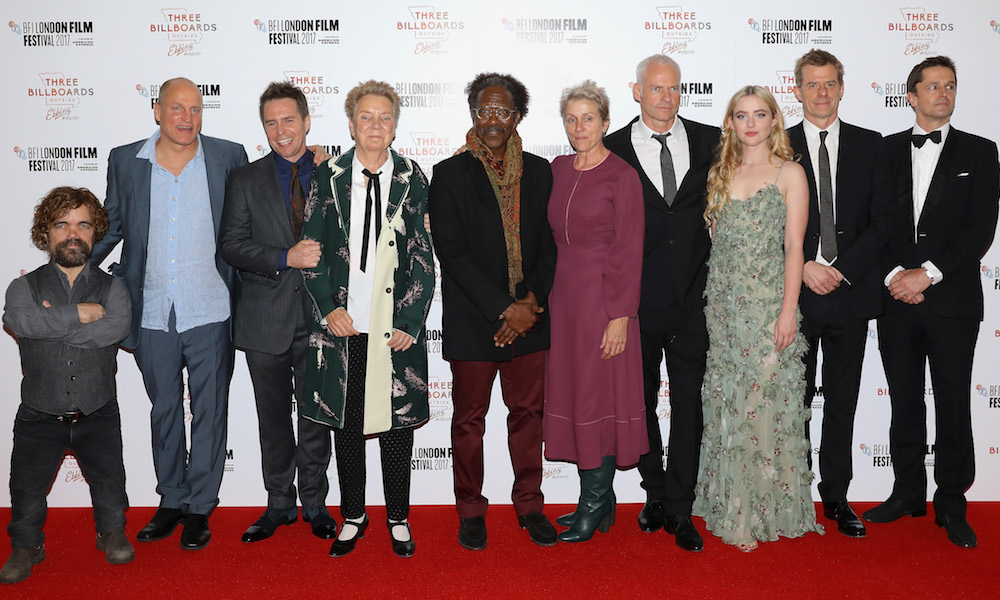 Three Billboards Outside Ebbing Missouri Closes The 61st London Film Festival A Chat With