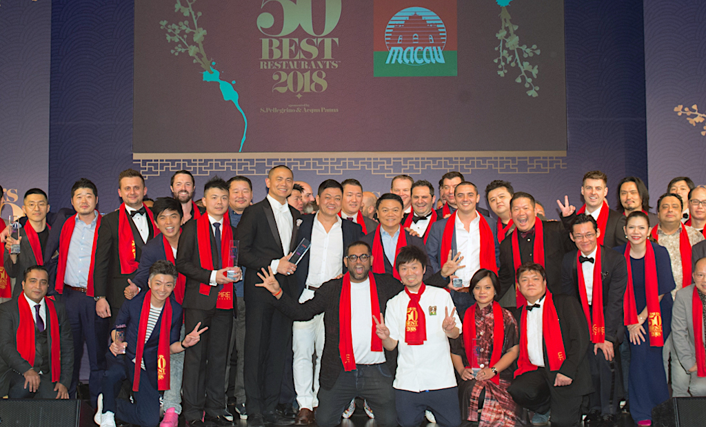 Asia's 50 Best Restaurants announced in China's Macao