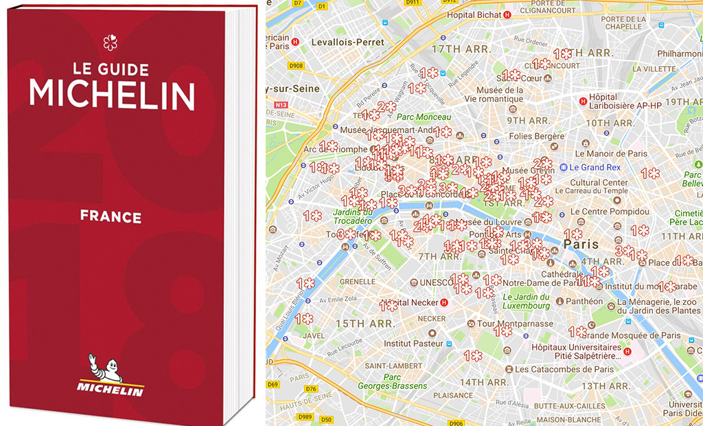 Paris Michelin star restaurants 2018: Full list and map – The Upcoming