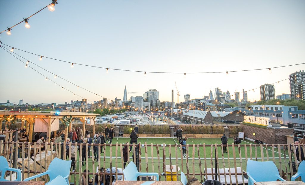 Skylight rooftop bar re-opens for the summer at Tobacco ...