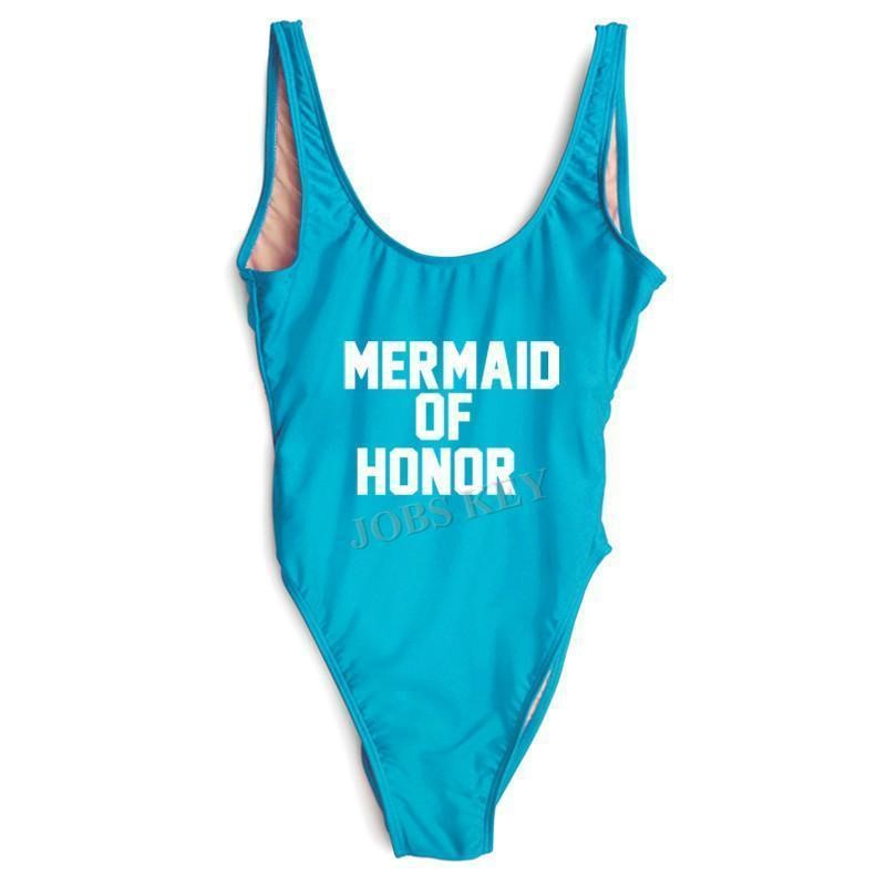 4fa30c3b1fe Here's one for the Maid of Honor. The Mermaid of Honor swimsuit is a great  choice for the special lady who gets the title of Maid of Honor.