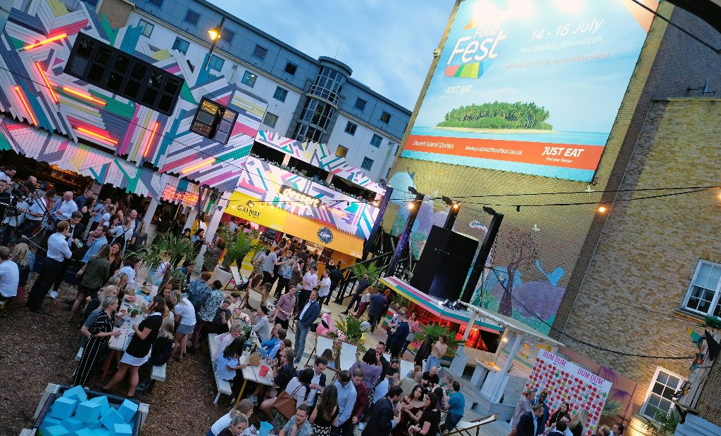 Just Eat Food Fest Returns To Shoreditch In July With