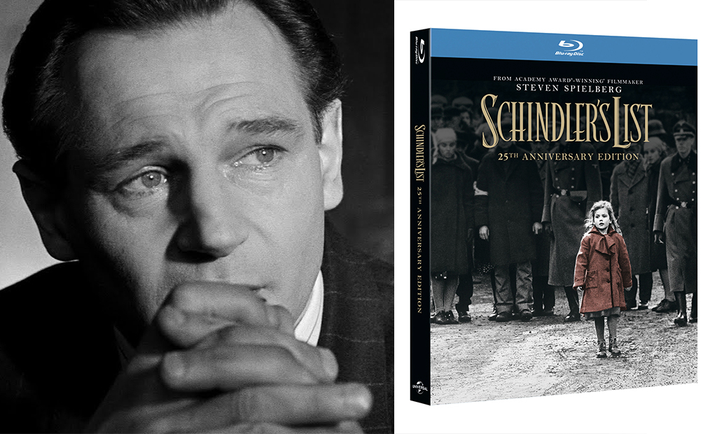 Competition: Win Schindler's List 25th anniversary edition on 4K