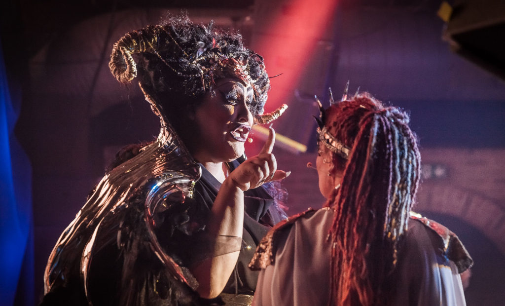 Zeus On The Loose At Fire Vauxhall Theatre Review The